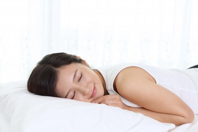 快眠の目安は、寝床内環境「温度33℃/湿度50%」