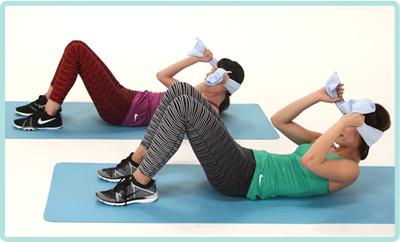 腹直筋や腹斜筋、そしてインナーマッスルまで、さまざまなメニューで鍛えることをおすすめ