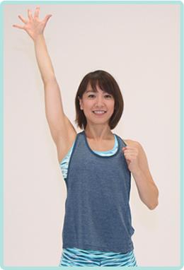 ダンスや格闘技の要素も加わった、進化系エアロビクス。