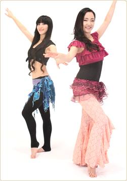 ベリーダンスはインナーマッスルが鍛えられる