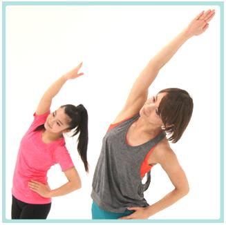 サーキットトレーニングは、運動をするのが初めて、あるいは久しぶりという方にとっては、有酸素運動と筋トレのいろいろな動きを行っていくので、飽きにくく、また短時間で効率よく動ける