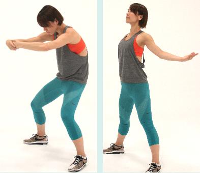 腰背部&胸のストレッチ