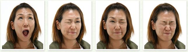 4 表情筋の運動