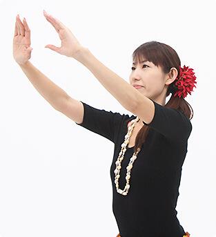 フラは神に捧げる神聖な踊り