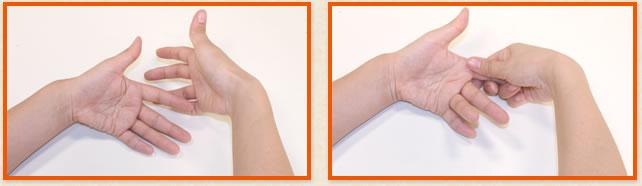 小指から握ることを意識
