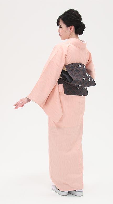 着物+半幅帯。浴衣+名古屋帯。組み合わせいろいろ♪