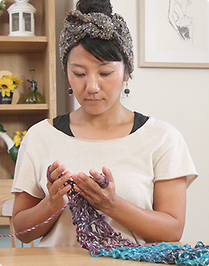 「ゆび編み瞑想」で頭も心も空っぽに!