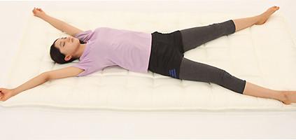 3.筋弛緩法のストレッチ