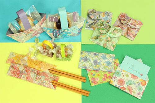 """折り紙は、笑顔が広がる簡単で小さな""""贈り物""""♪"""