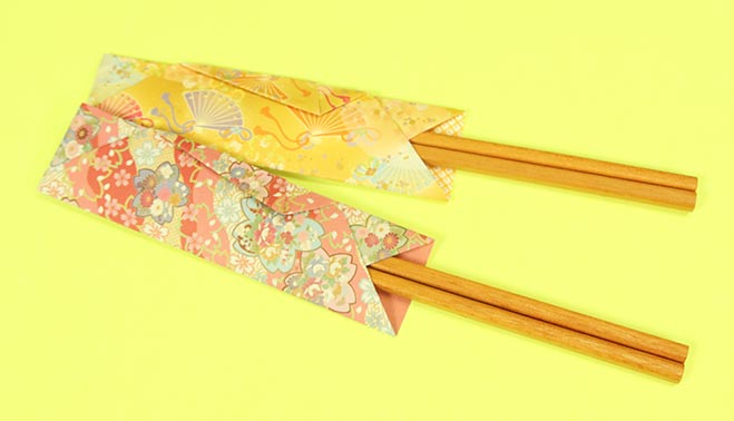 ホームパーティーなどで活躍する、箸袋の折り方です。