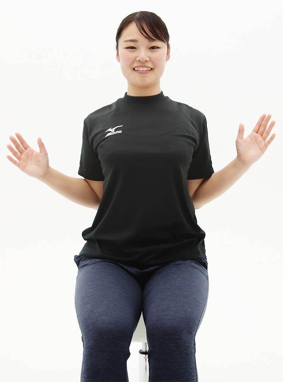 背中の筋肉をしっかり意識