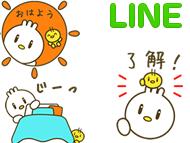 ピヨ丸LINE ポップアップスタンプ