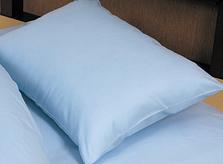 無地カバー 枕カバー  封筒 ブルー