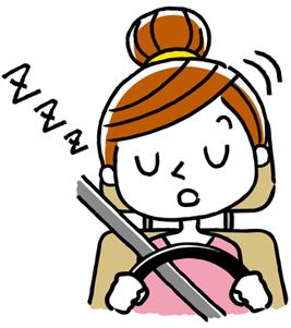 寝不足による注意力の低下は飲酒運転レベル!?