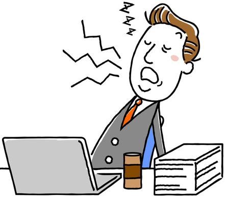 睡眠不足は精神面から経済面にまで影響