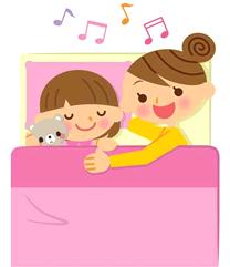 家庭において睡眠は単に眠るだけでなく、親子間や夫婦間の絆を深める大切なコミュニケーションの場