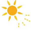 寝起きにしっかりと太陽光を浴びて、体を目覚めさせる