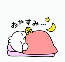 """東洋羽毛キャラ""""ピヨ丸""""スタンプ 第2弾"""